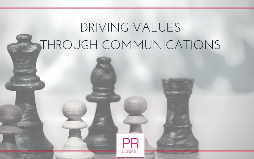 Driving Company Values Through Communication Strategies